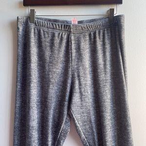 Soft Fuzzy Pajama Leggings Stretchy Comfy XXL